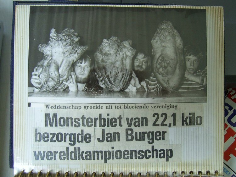 monsterbiet Jan Burger